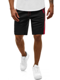 Men's Fashion  Running Fitness Zipper Shorts