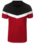 Men's Polo Color Block Short Sleeve Tops Polo Solid Color