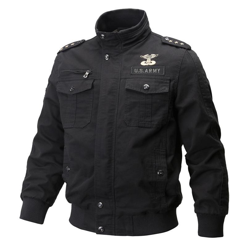 Men's Tooling Air Force Embroidery Jacket
