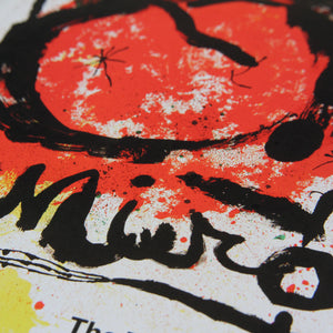 Joan Miro (1964 Tate vintage poster reproduction)