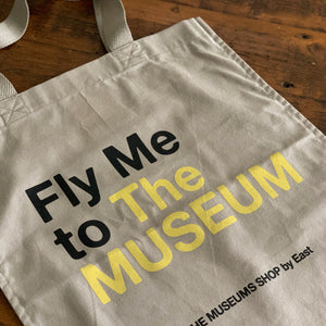 Fly Me to The MUSEUM エコバッグ サンド