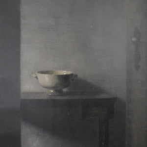 Vilhelm Hammershøi, Interior with the Artist's Easel, 1910