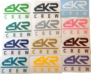 "2"" BKR Crew Decal Sticker"