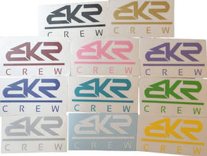 "4"" BKR Crew Decal Sticker"