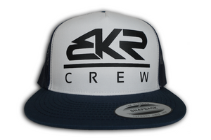 BKR Crew Navy Blue/Black Trucker Hat