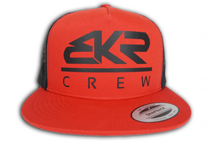 BKR Crew Red/Black Trucker Hat