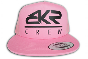 BKR Crew Pink/Black Trucker Hat