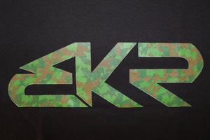 BKR Camo Tee in Black