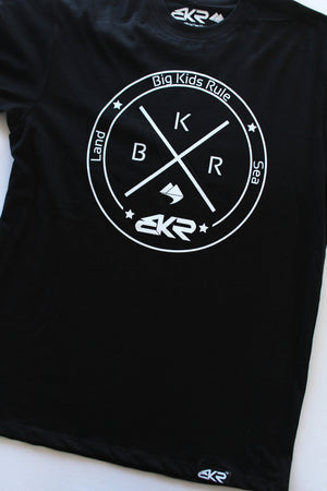 Rule Land n Sea Tee in Black