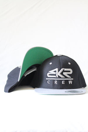 BKR Black/Silver Hat