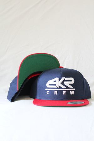 Crew Navy/Red Hat