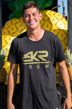 Tri-Blend BKR CREW LIMITED PINEAPPLE TEE