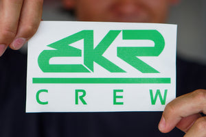 "Lime 5"" BKR Crew Decal Sticker"