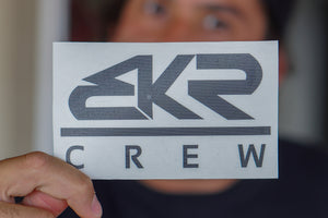 "Black 5"" BKR Crew Decal Sticker"