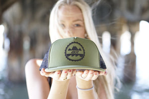 BKR Everywhere Hat Olive/Black