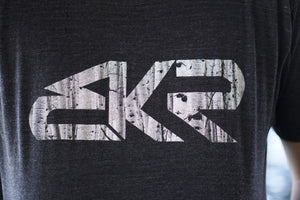 BKR Aspen Mens Tee in Tri-Black