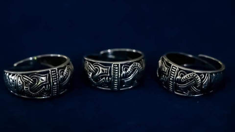 Viking Jewellery - Gripping Beasts