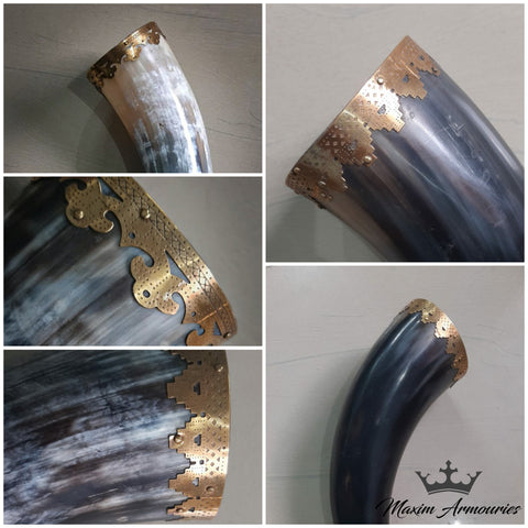 Drinking Horn - Ornate