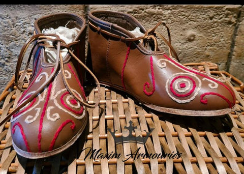 Viking Shoes - Slavic Opele