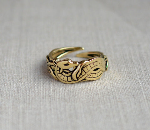 Vikings Bronze Dragon Ring