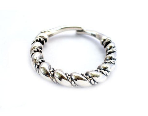 Vikings Silver Twisted Ring