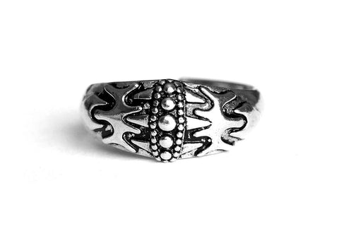 Vikings Silver Wolf Ring Falster Island