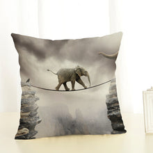 Load image into Gallery viewer, Elephant Art Cushion Cover (Various Designs)