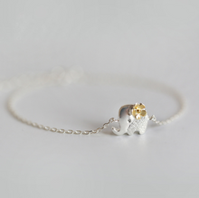 Load image into Gallery viewer, Elephant with Flower Bracelet