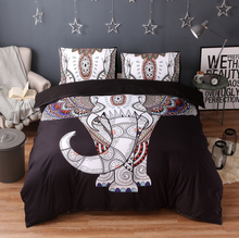 Load image into Gallery viewer, Mandala Elephant Bedding Set
