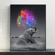 Load image into Gallery viewer, Color Trumpet Canvas Painting