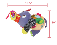 Load image into Gallery viewer, Bobby the Elephant Development Plush Toy