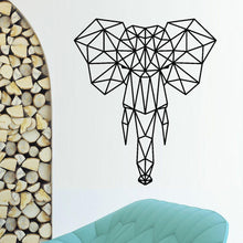 Load image into Gallery viewer, Origami Elephant Wall Art