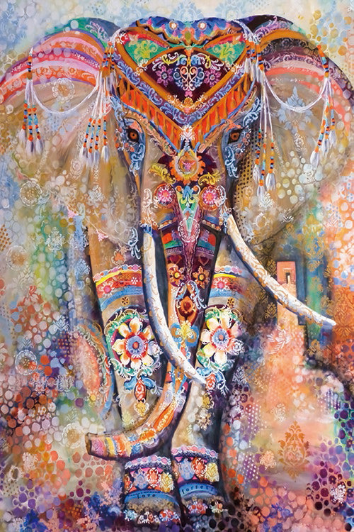 Mandala Elephant Artwork Puzzle