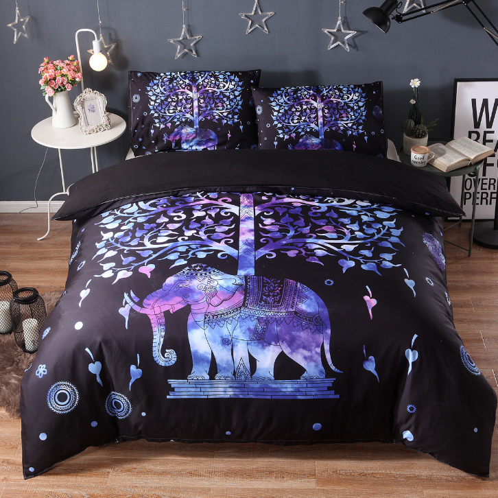 Tree of Life Elephant Bedding Set