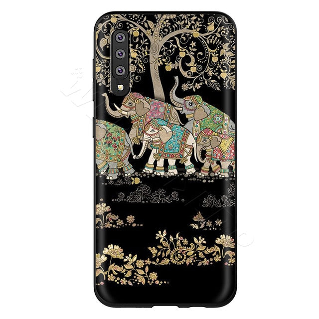 Herd Under a Tree Phone Case - Samsung