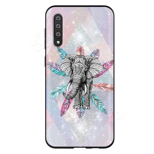 Elephant in Feathers Phone Case - Samsung