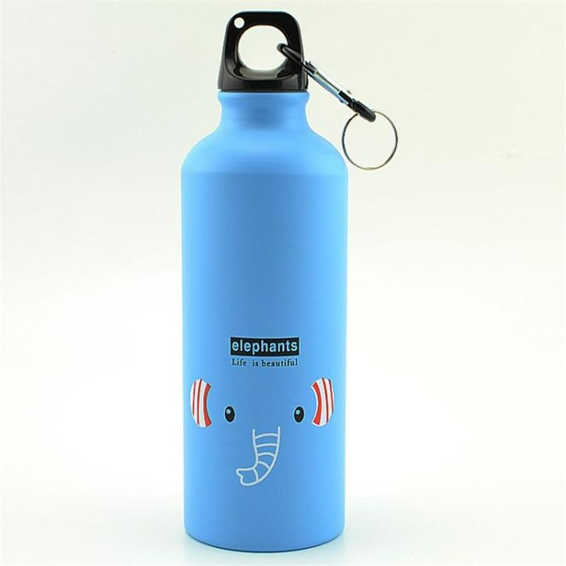 Cartoon Elephant Sports Bottle