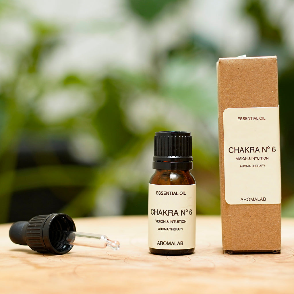 Synergie d'huiles essentielles bio Chakra n°6