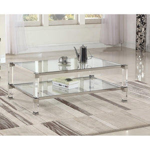 Cyrus Coffee Table Silver