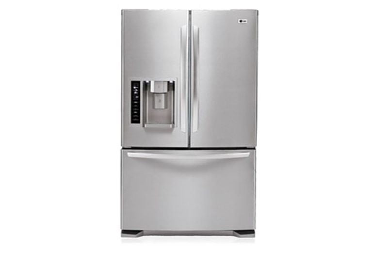 EX-DEMO GR-L218STSL LG 601 ltr Stainless Steel French Door Fridge with Ice Maker