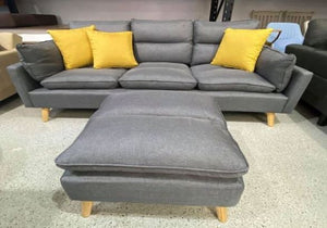 Abby Living Room L Shape Sofa