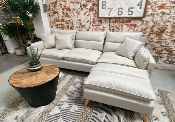 Abby Living Room Corner Sofa