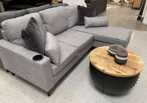 Harvey Living Room L Shape Sofa