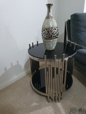 Clifton Silver Side Table