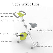 Load image into Gallery viewer, Exercise Bike, Ultra-Quiet Exercise Bike Foldable and Adjustable Resistance Home Bike Dynamic Bike Suitable for Indoor Exercise