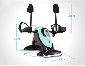 Pedal Exerciser Electric Rehabilitation Machine Electric Bicycle Upper and Lower Limb Training Device Rehabilitation Equipment (Color : B)