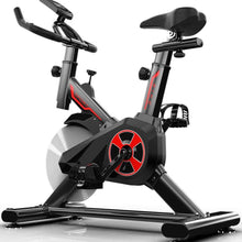 Load image into Gallery viewer, Indoor Exercise Bike,Chrome Flywheel Cycling,Fitness Bike Comfortable Seat for Training Cardio Black