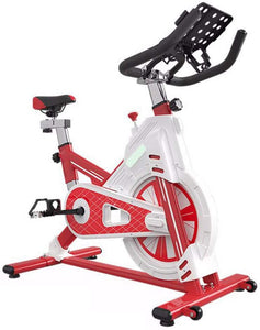 Indoor Exercise Bike Spinning Bike Ultra Quiet Home Abdominal Muscle Trainer with Low Noise Belt Transmission System Sports Fitness Equipment Aerobic Trainer