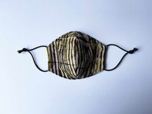 Load image into Gallery viewer, East African Tanzania Batiki Fabric Face Mask 21/10