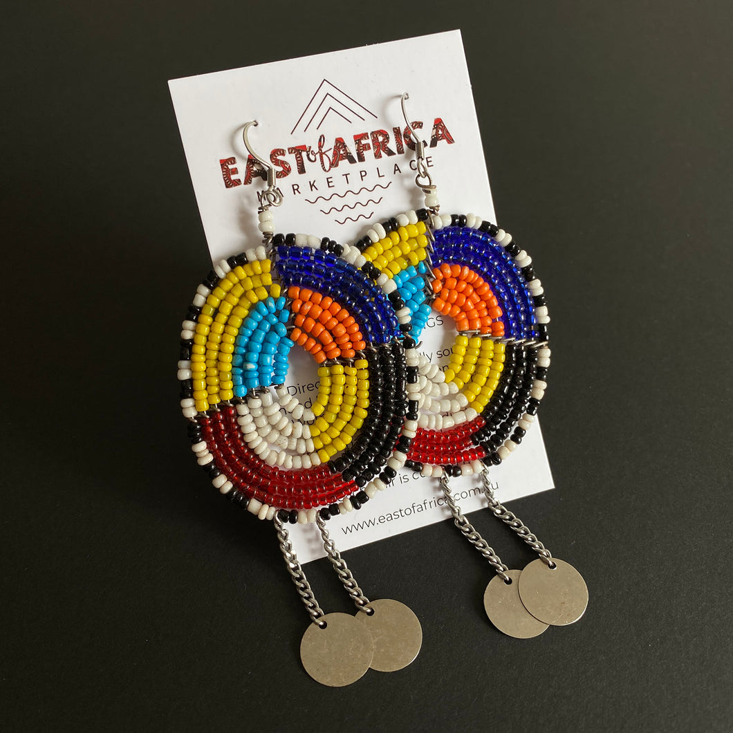 Maasai Beaded Earrings 2020/24